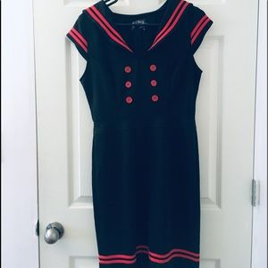 Hell Bunny sailor dress